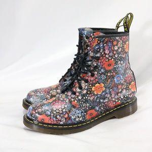DR. MARTENS 11821 Sienna Miller Floral Boots